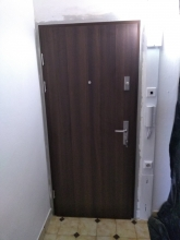 Vchodové dvere KWARC - Dub Miláno 5